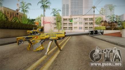Cross Fire - M82A1 Iron Shark Noble Gold para GTA San Andreas