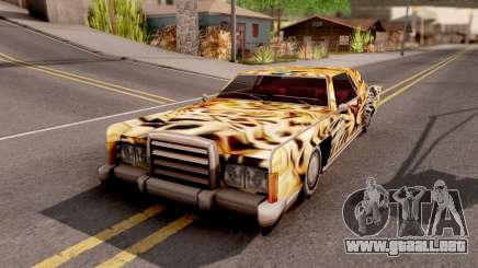 New Remington Paintjob v4 para GTA San Andreas