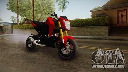 Kawasaki Z125 Pro para GTA San Andreas