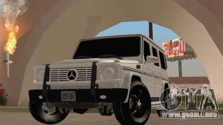 Mercedes-Benz G65 AMG 2012 para GTA San Andreas