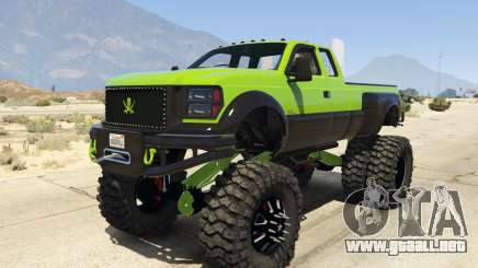 Sandking HD Monster Dually para GTA 5