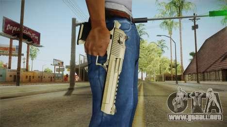 Desert Eagle 24k Gold para GTA San Andreas