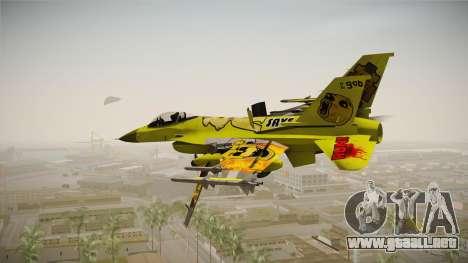 FNAF Air Force Hydra Golden Freddy para la visión correcta GTA San Andreas