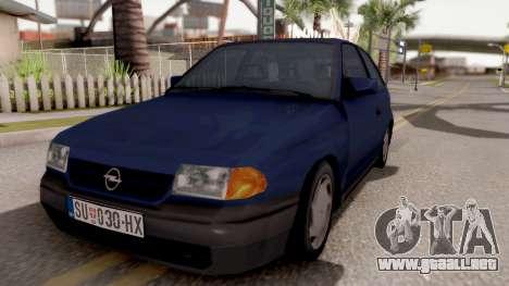 Opel Astra F para GTA San Andreas