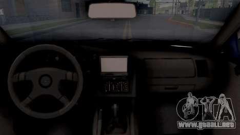 Opel Astra F para visión interna GTA San Andreas