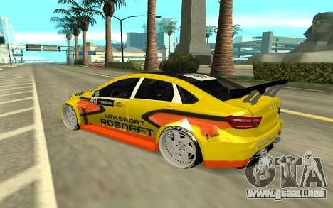 Lada Vesta WTCC para la visión correcta GTA San Andreas