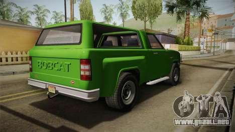 GTA 5 Vapid Bobcat S para la visión correcta GTA San Andreas