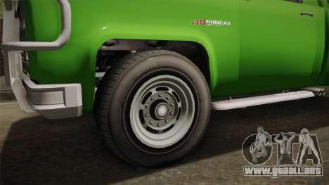 GTA 5 Vapid Bobcat S para GTA San Andreas vista hacia atrás