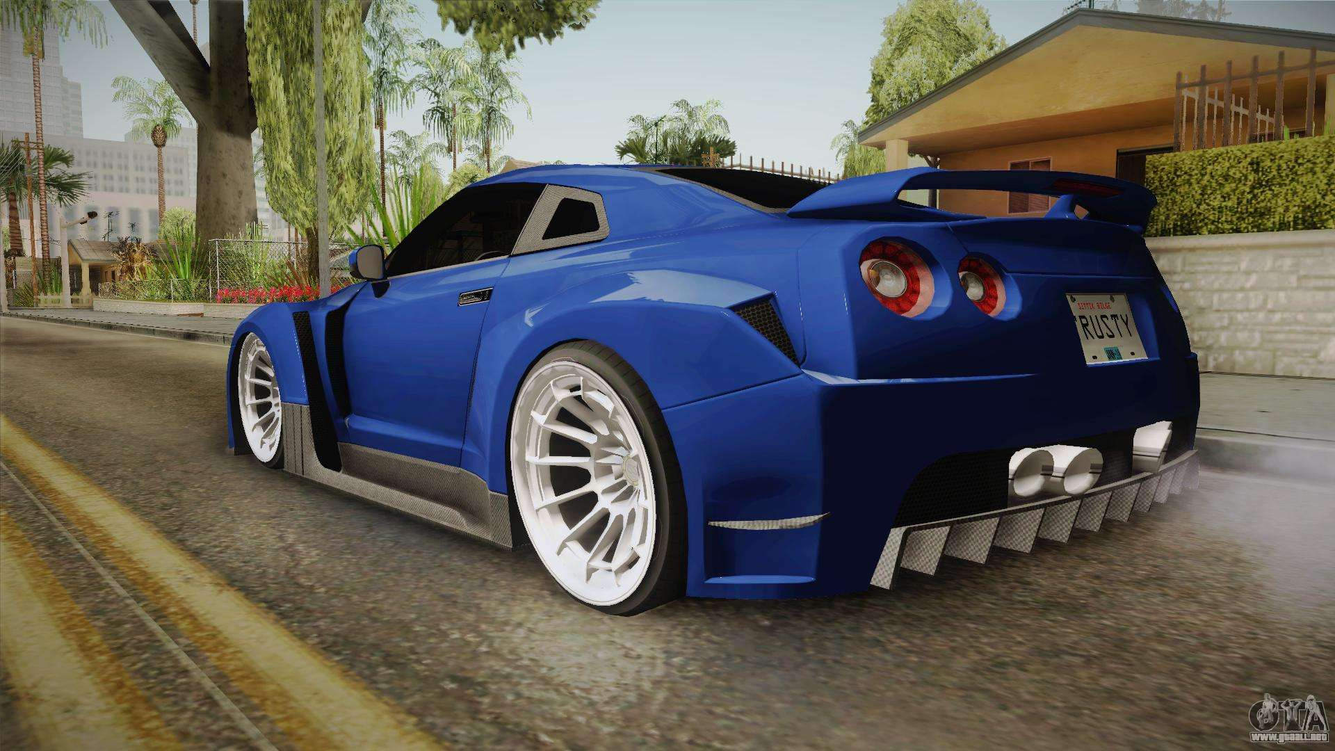 nissan gt r r35 nfsuc tuning para gta san andreas. Black Bedroom Furniture Sets. Home Design Ideas