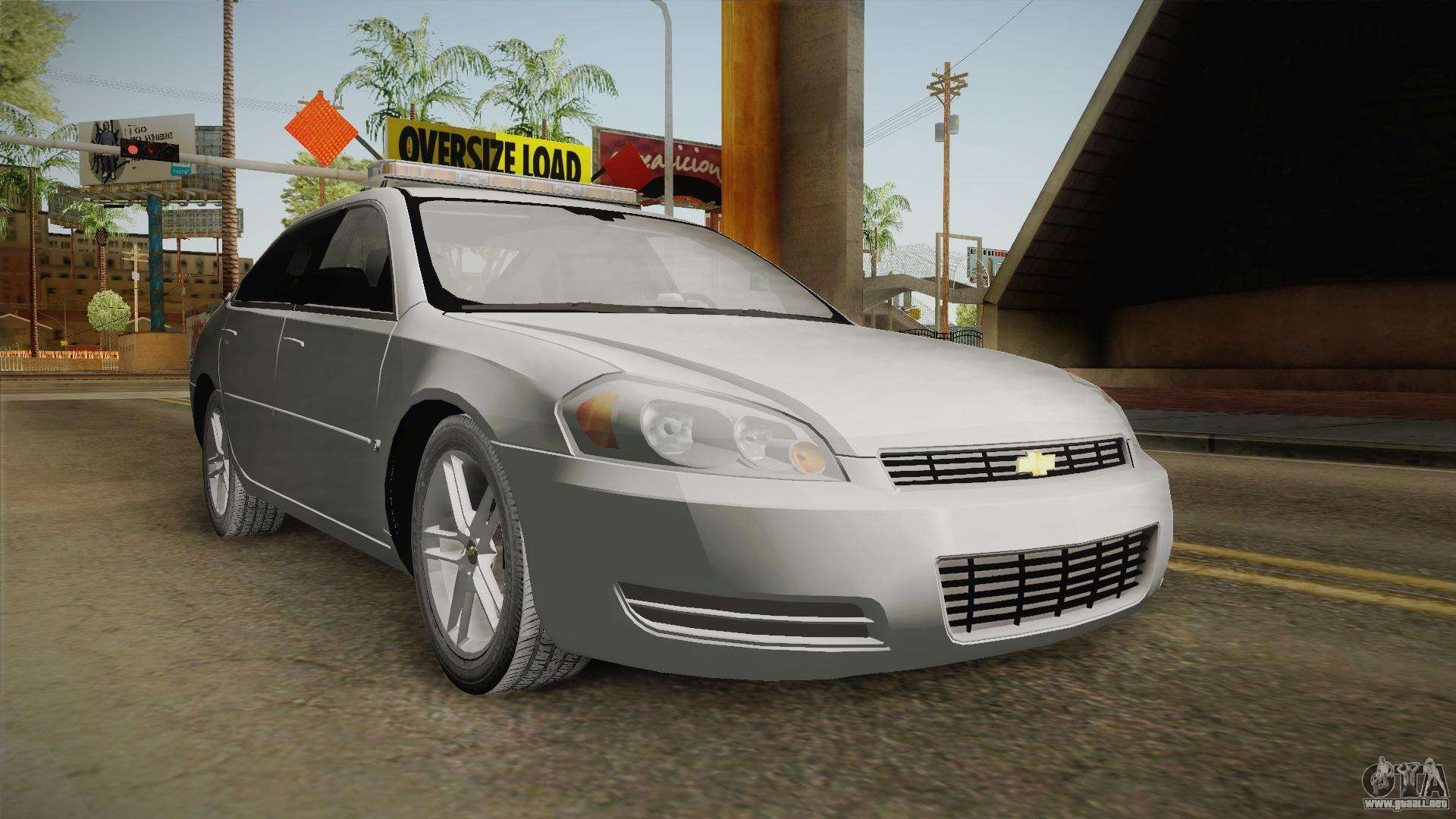 chevrolet impala 2008 ltz pilot car para gta san andreas. Black Bedroom Furniture Sets. Home Design Ideas