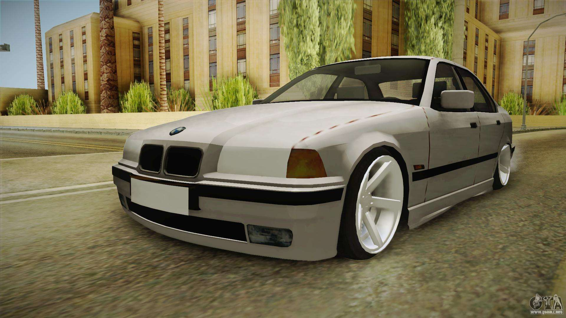 bmw 3 series e36 1992 sedan para gta san andreas. Black Bedroom Furniture Sets. Home Design Ideas