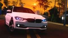 BMW F30 335i Light Tuning para GTA San Andreas