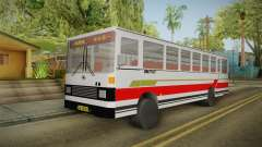 Huanghai DD6111CT Suburban Bus Red para GTA San Andreas