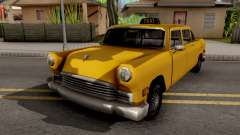 Cabbie New Texture para GTA San Andreas