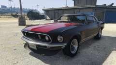 Ford Mustang Boss 302 1969 para GTA 5