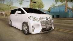 Toyota Alphard 3.5G 2015 v2 para GTA San Andreas