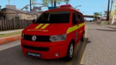 Volkswagen Transporter T5 Vatrogasci para GTA San Andreas