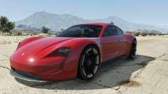 Porsche Mission E 2015 para GTA 5