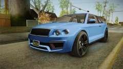 GTA 5 Enus Huntley Coupè para GTA San Andreas