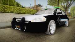 Chevrolet Impala 2009 Airport Authority para GTA San Andreas