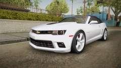 Chevrolet Camaro Convertible 2014 para GTA San Andreas