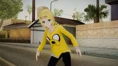 Hoodie Rin Kagamine para GTA San Andreas
