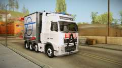 Volvo FH16 660 8x4 Convoy Heavy Weight para GTA San Andreas