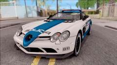 Mercedes-Benz McLaren 722 High Speed Police para GTA San Andreas