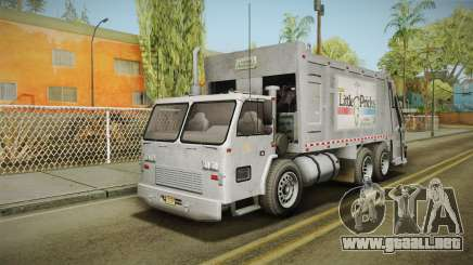 GTA 5 Jobuilt Trashmaster 2 IVF para GTA San Andreas