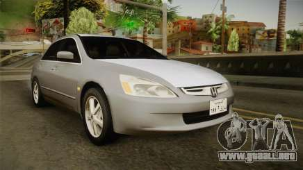 Honda Accord 2004 para GTA San Andreas