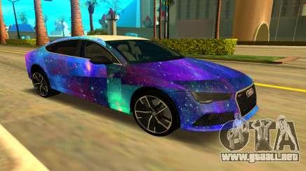 Audi RS7 para GTA San Andreas