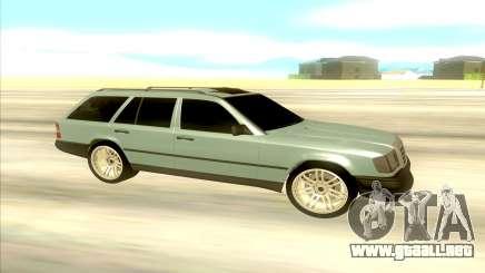 Mercedes-Benz W124 Wago para GTA San Andreas