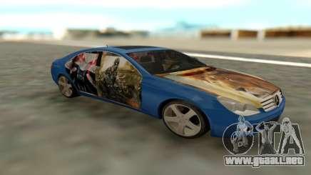 Mersedes-Benz CLS 350 para GTA San Andreas