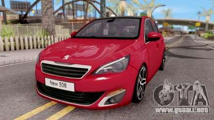 Peugeot 308 2016 para GTA San Andreas