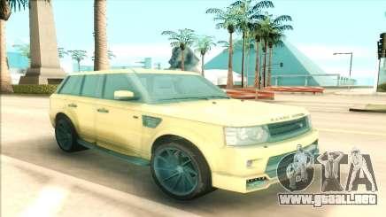 Range Rover Arden Design para GTA San Andreas