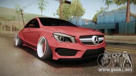 Mercedes-Benz CLA 45 AMG WideBody 2014 para GTA San Andreas