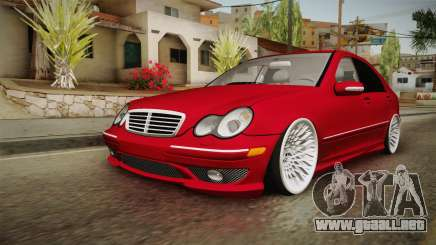 Mercedes-Benz C32 AMG Stanced para GTA San Andreas