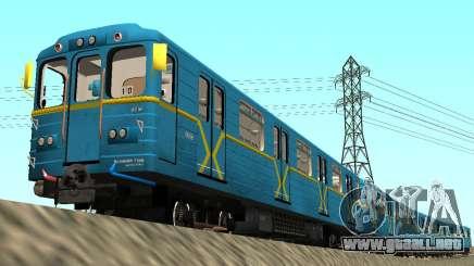 Metrostav tipo de Comer Kiev para GTA San Andreas