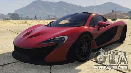 McLaren P1 2014 2.0 para GTA 5