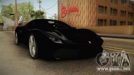 Ferrari 488 Stock para GTA San Andreas