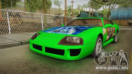 Jester Final Fantasy X Paintjob para GTA San Andreas