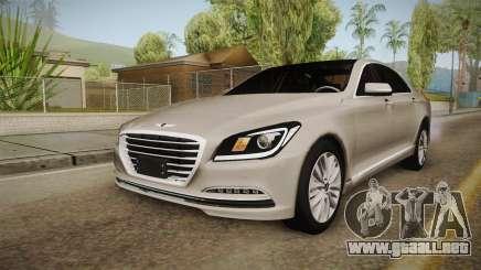 Hyundai Genesis 2016 para GTA San Andreas