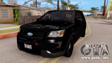 Ford Explorer FBI para GTA San Andreas