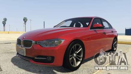 BMW 335i Sedan para GTA 5