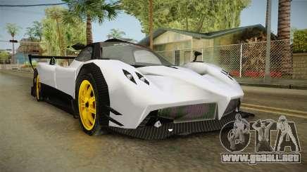 Pagani Zonda Low para GTA San Andreas
