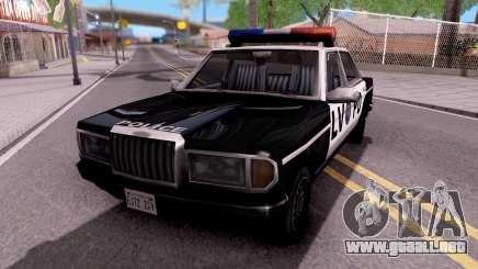 Admiral LVPD para GTA San Andreas