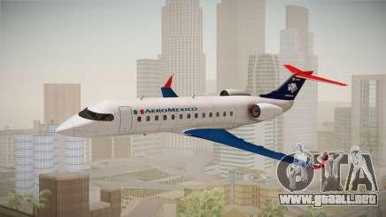 GTA 5 Buckingham Starjet Aeromexico para GTA San Andreas