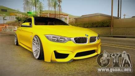 BMW M4 F82 Stance para GTA San Andreas