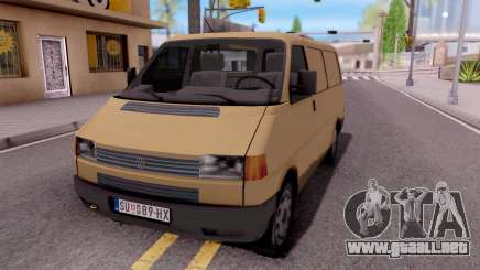 Volkswagen Transporter T4 Special para GTA San Andreas
