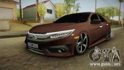 Honda Civic 2017 FC5 para GTA San Andreas
